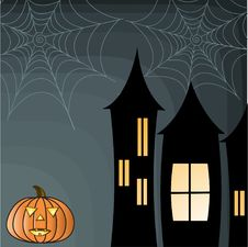 Free Halloween Background Royalty Free Stock Photo - 15830335