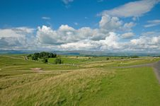 Free The Summer Landscape Of Cumbria Stock Images - 15830474