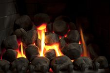 Free Warm Glowing Fire Stock Photos - 15830673