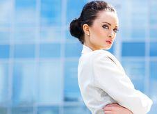 Free Beautiful Business Woman Stock Photography - 15831112