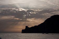 Free Headland Sunset Stock Photography - 15832602