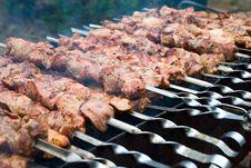 Free Shish Kebab Royalty Free Stock Photo - 15832685