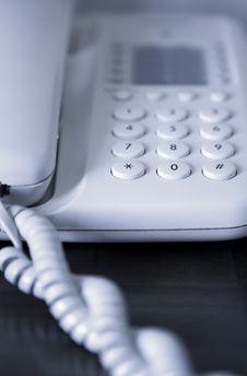 Free Phone Line Closeup Royalty Free Stock Photo - 15833235