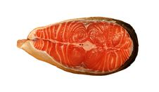 Free Steak Red Fish Royalty Free Stock Photography - 15833287