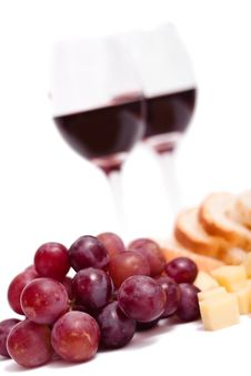 Free Wine And Grapes Royalty Free Stock Photo - 15833585