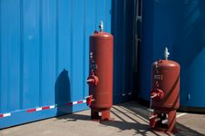 Free Gas Clinders Stock Photos - 15833873
