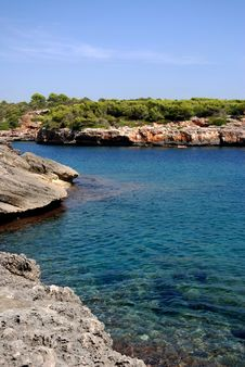 Free Cala Sa Nau (Mallorca) Stock Photography - 15833982
