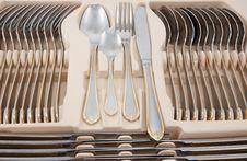 Tableware Kit Stock Image