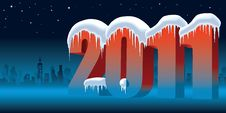 Free New Year 2011 Stock Photography - 15835472