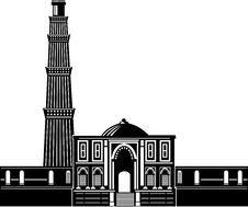 Free Qutub Minara Tower Delhi India Stock Images - 15836234