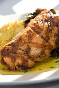 Free Grilled Salmon Stock Photos - 15836363