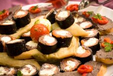 Free Sushi Plate Stock Photo - 15839370
