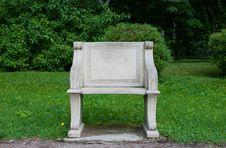 Free Stone Chair Stock Photos - 15839603