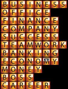 Free Many Icons, Alphabet Stock Image - 15839711