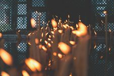 Free Votive Candles Stock Photography - 158371002