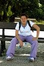 Free Girl Tired Of Walking Royalty Free Stock Photo - 15840045