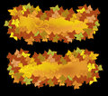 Free Autumn Beauty Banners Royalty Free Stock Photo - 15843005