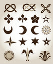 Free Set Of Traditional Architectural Emblems Stock Photos - 15843483
