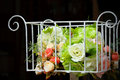Free Beautiful Flowers In Basket Royalty Free Stock Photography - 15844227