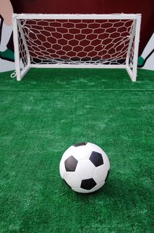 Free Soccer Turf Royalty Free Stock Photography - 15840327