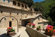 Free Assisi - Umbria - San Francesco Eremo Stock Images - 15840444