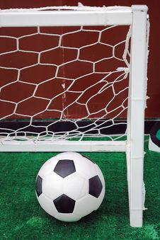 Soccer Turf Royalty Free Stock Images