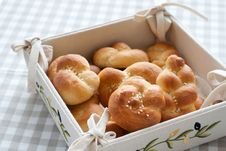 Free Tied Or Knotted Rolls Stock Photo - 15840810