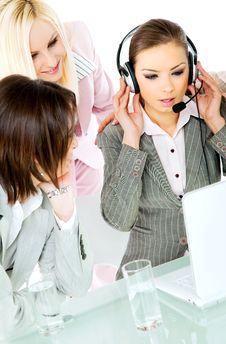 Free Team Work Businesswomen Stock Photos - 15840953