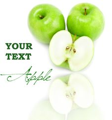 Free Green Apples Royalty Free Stock Photography - 15841127