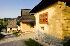 Village Of  Vlkolinec Stock Images