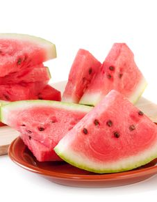 Free Fresh Watermelon Royalty Free Stock Image - 15841296