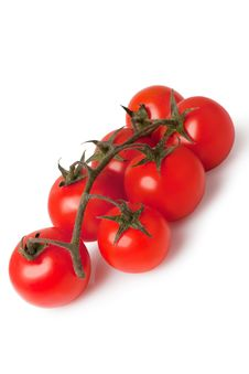 Free Bunch Of Fresh Cherry Tomato Stock Photos - 15841313