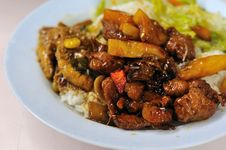 Free Vegetarian Sweet And Sour Pork Stock Photos - 15842393
