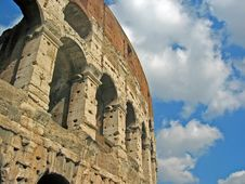 The Coliseum Of Rome Stock Photography