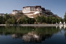 Free The Potala Palace Royalty Free Stock Photo - 15842715