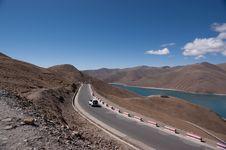 Free Lake In Tibet, China Royalty Free Stock Photo - 15843635
