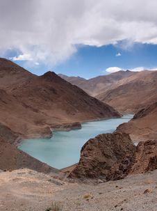 Free Lake In Tibet, China Royalty Free Stock Photo - 15843845