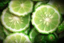 Free Lime Slices Stock Photo - 15844220