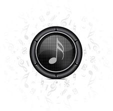 Speaker Sound Background Royalty Free Stock Photos