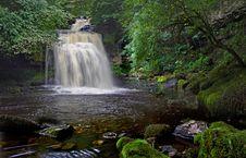 Free West Burton Waterfall Royalty Free Stock Photo - 15844875