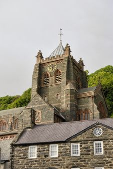 Free St John S Church, Barmouth Stock Photo - 15844880