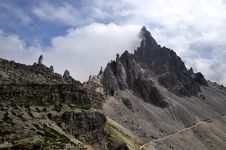 Free Landscape Dolomites - Monte Paterno Royalty Free Stock Photography - 15846297