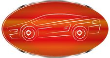 Free Sports Car Label, Auto Badge Design, Icon Stock Images - 15847264