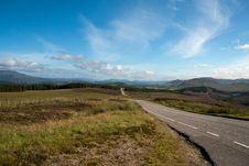 Mountain Pass In Scotland Stock Photos