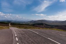 Free Mountain Pass Near Loch Ness Stock Image - 15847871
