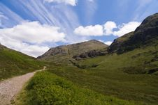 Free Path In Glen Coe, Scotland Stock Photos - 15848183