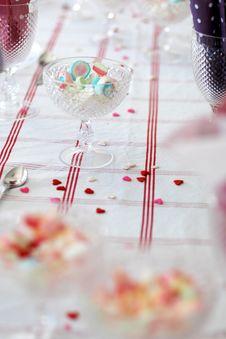 Free Birthday Table. Stock Photos - 15848303