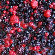 Free Fruit Topping. Royalty Free Stock Photography - 15848357
