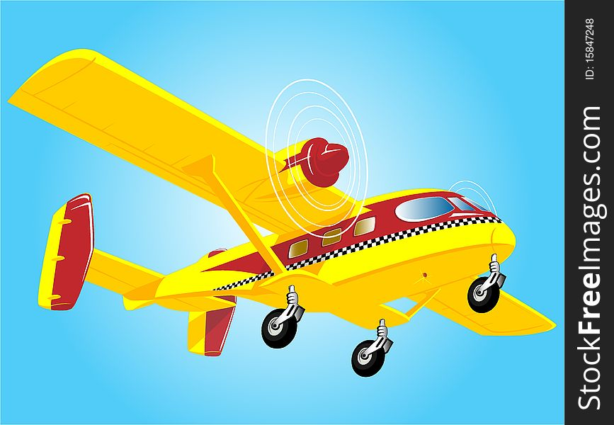 Flying air taxi