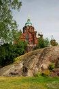 Free Uspenski Cathedral In Helsinki Royalty Free Stock Image - 15850246
